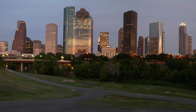 Leica panorama of Houston skyline