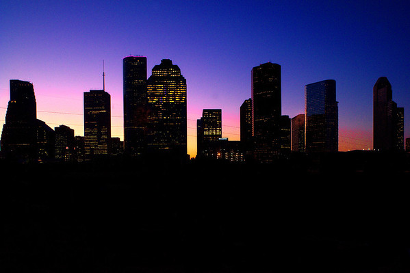 Houston Skyline pre-dawn