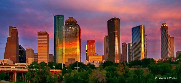 Photos of Houston: Architecture, Art, Statues, Commerce, and Culture