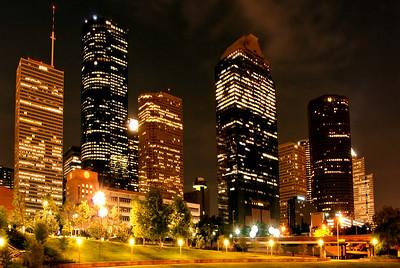 Central Houston Skyline