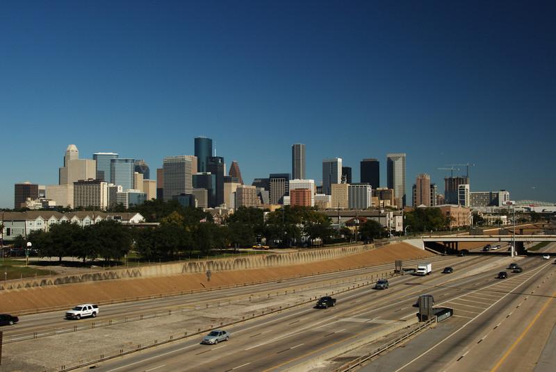 Houston skyline from SH288