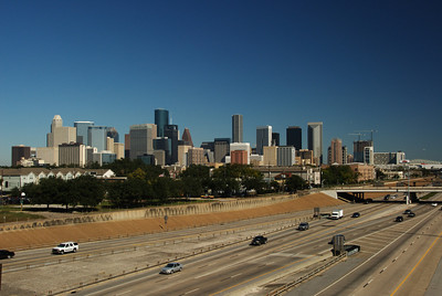 Houston skyline from SH288