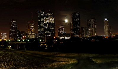 Full Moon over Houston