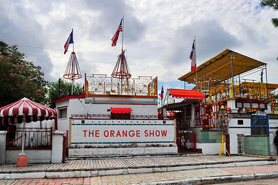 The Orange Show on Munger St is a Houston icon