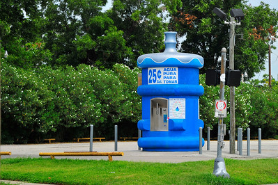 There are several of these filtered water in Houston.