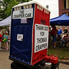 "Houston Art Car Parade 2010<br /> ""The Crapper Car"" by Richard E. Simcik, No.61 placed 3rd in the Performance Category."