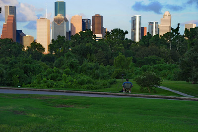 Houston Skyline, July 4th, 2010