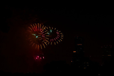 July 4th Fireworks over Houston, 2010