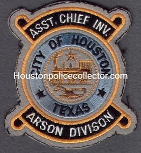 ARSON 14 ASST CHIEF INV