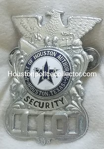 City of Houston Badges