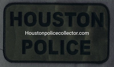 HOUSTON VELCRO BACK PATCH