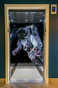 Astronaut Elevator, Marriott Marquis Hotel, Houston