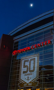 Rockets celebrate 50 years, Toyota Center, Houston