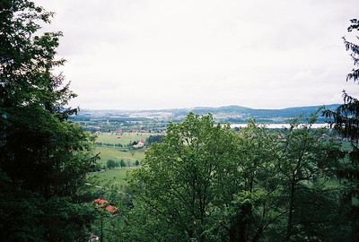 Panorama from Neuschwanstein.