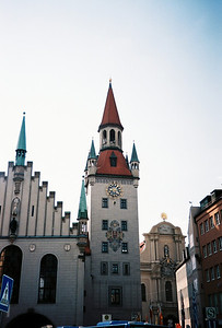 The Old Town Hall Tower houses a fun toy museum (Spielzeugmuseum).