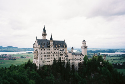 Neuschwanstein Castle: There is no other castle in the world as romantically idealized as Neuschwanstein. Set in a spectacular location near Fussen in Bavaria, it's said to have inspired Walt Disney's design of Cinderella's Castle in Disneyland
