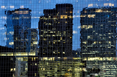 Reflections in Windows, Downtown Houston