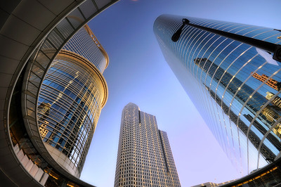 Modern office buildings, Houston, Texas