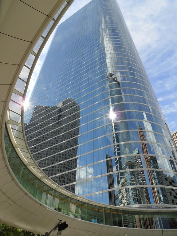 Houston-Montrose-Downtown 2012-06-15