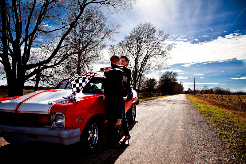 Tomball-Engagement-Racing-Car-Country-Road-C-Baron-Photo-001