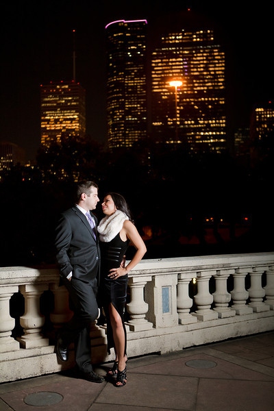 Houston-Engagement-Downtown-Nighttime Skyline-C-Baron-Photo-006