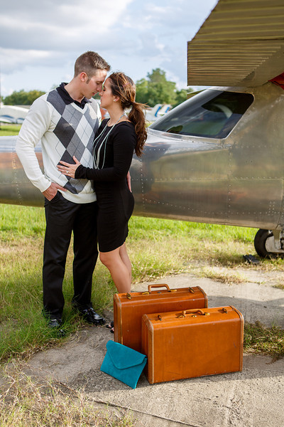 Houston-Engagement-Airport-Airplane-C-Baron-Photo-134
