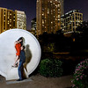 Houston-Engagement-Indian-Discovery-Green-Nighttime-Downtown Skyline-Proposal-C-Baron-Photo-001