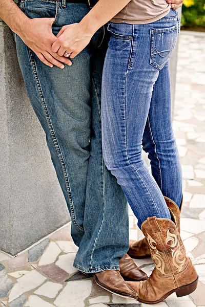 Houston-Engagement-Hermann-Park-Cowboy- Boots-C-Baron-Photo-001