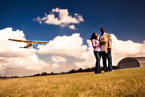 Houston-Engagement-Airport-Airplane-C-Baron-Photo-008