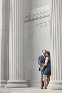 Luxury Engagement session at Museum of Fine Arts Houston