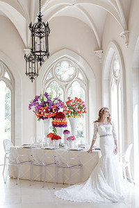 Gorgeous luxurious wedding editorial at Chateau Cocomar in Houston Texas