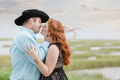 Beautiful Engagement session in Galveston TExas