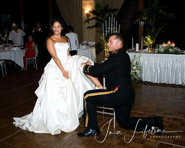 Corpus Christi Military wedding