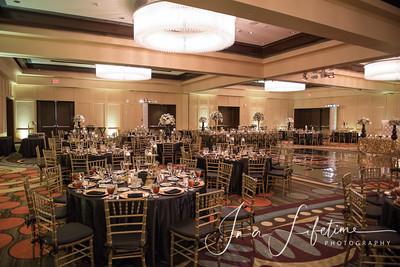 UH Hilton Hotel Wedding reception