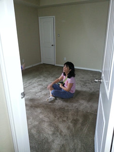 Mama in Madi's room