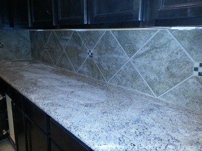 Hey!  The backsplash is in!