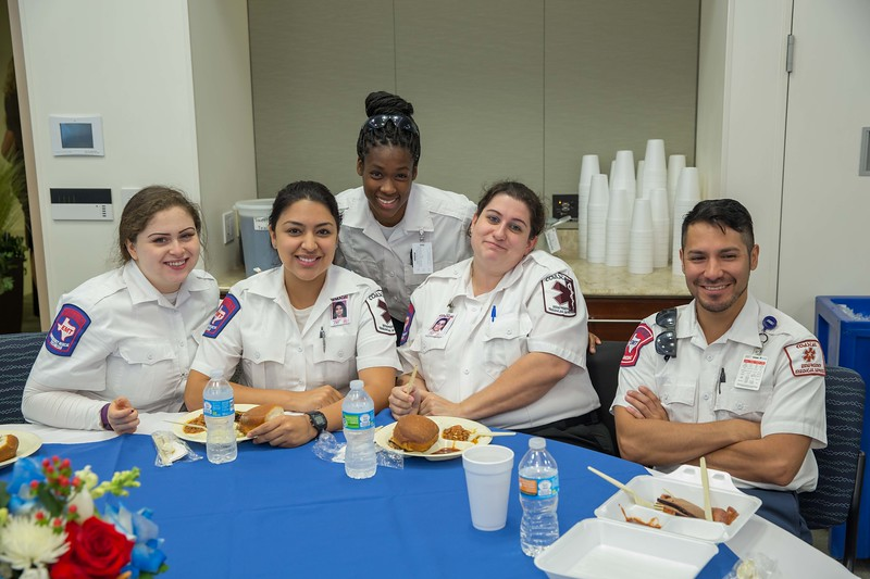 HOUSTON METHODIST WILLOWBROOK EMS AWARDS LUNCHEON