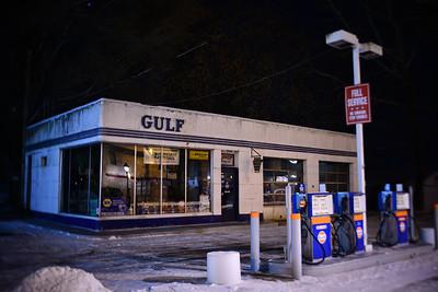 Gulf Station–––Stroudsburg, PA