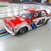 Pete Brock modified a stock 510 and with John Morton at the wheel outran the Alfa's to win the Trans Am championship two years in a row.