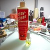 """Perhaps the most important part of soldering is cleaning the part using a good liquid acid flux. This flux by """"Stay Clean"""" is highly recommended."""