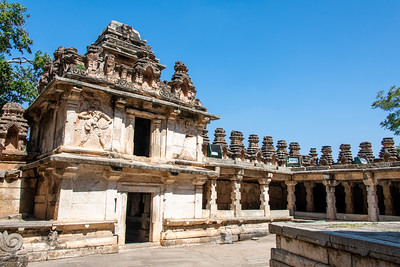 Within the Sampige Siddeshwara Temple.