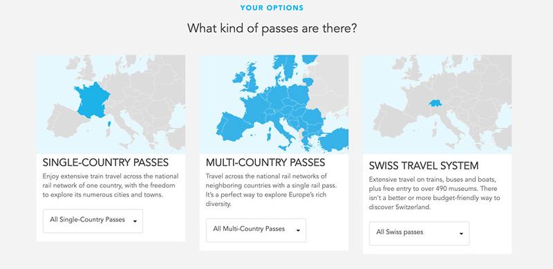 ซื้อ Rail Pass ออนไลน์ ซื้อตั๋วรถไฟยุโรปออนไลน์ Rail Pass Eurail Pass หรือ Eurail Global Pass