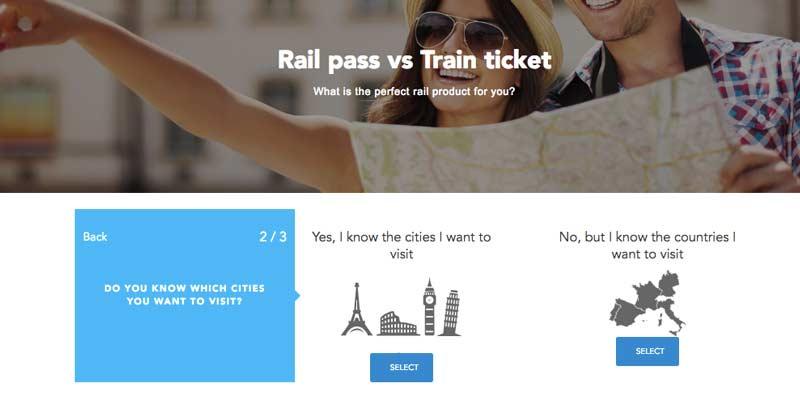 จองตั๋วรถไฟยุโรป rail europe