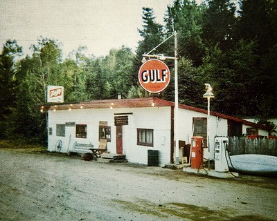 Gulf Station, Ripogenous Dam, Maine 1975