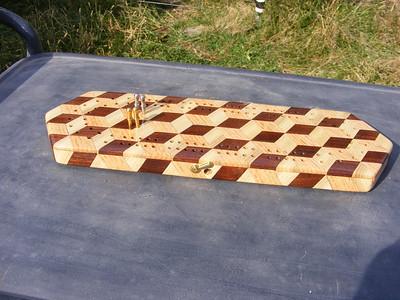 Making A Cribbage Board