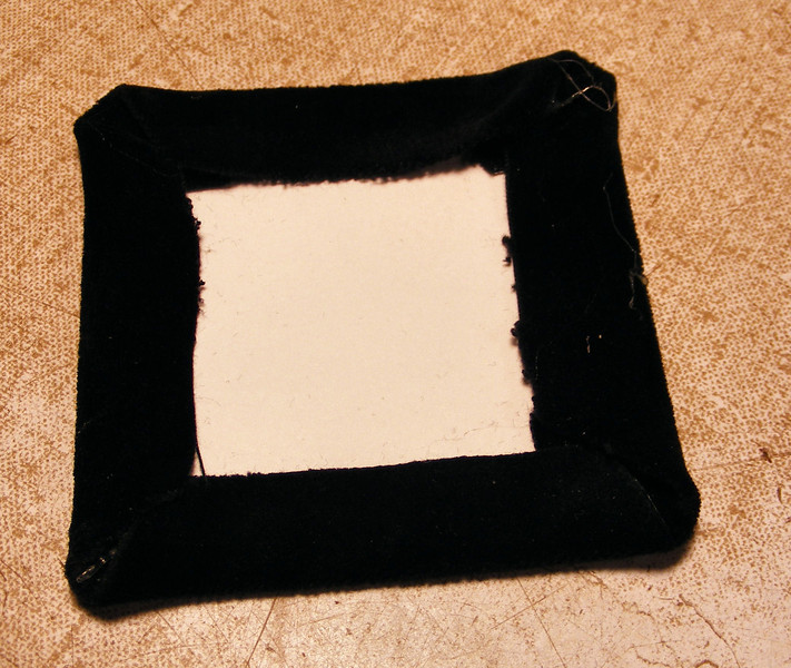 #45 Making a Tiny Sq Box<br /> I will take a square piece and fold and glue it over a piece of porter board that I will glue onto the bottom and the top.