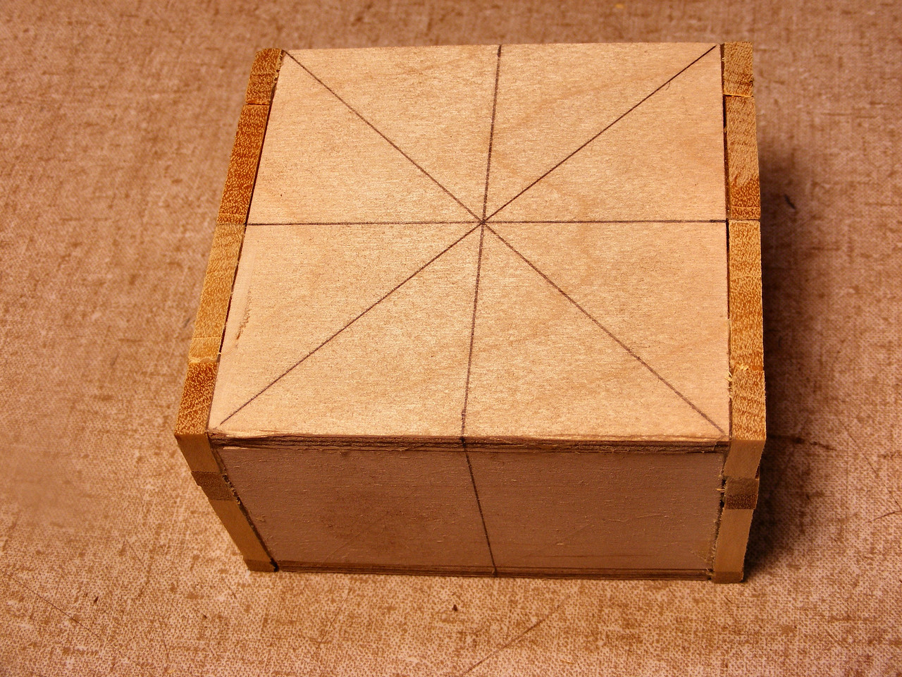 #15 Making a Tiny Sq Box<br /> So that the box is now like this.