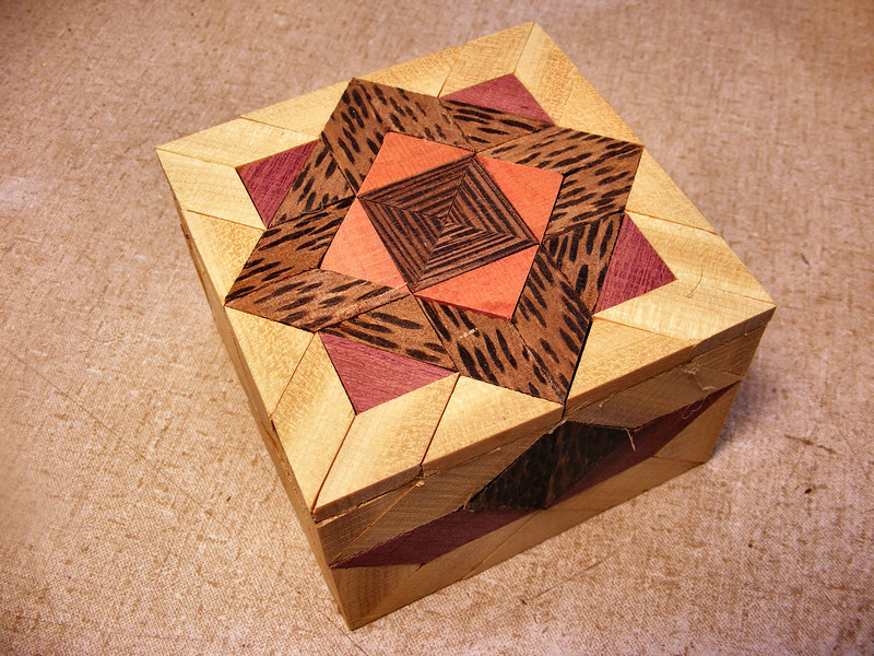 #23 Making a Tiny Sq Box<br /> You can see on this picture how the pieces are uneven with each other and rough as a cob.
