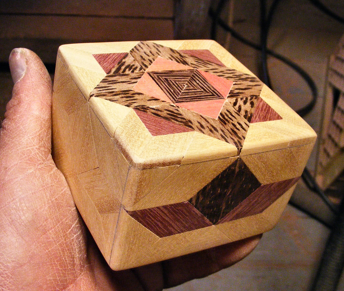 #30 Making a Tiny Sq Box<br /> To me the rounded corners are more pleasing to the eye also.