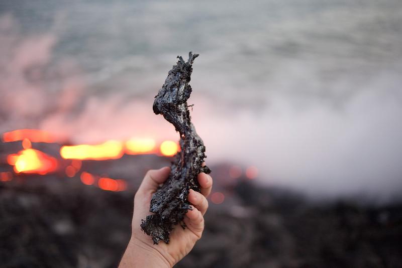 """Cooled """"lava bomb"""""""